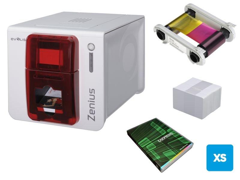 Evolis ZENIUS Farb-Kartendrucker Classic USB