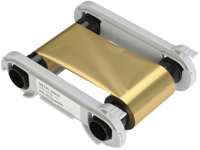 Evolis RCT016 Farbband gold met. Zenius/Primacy