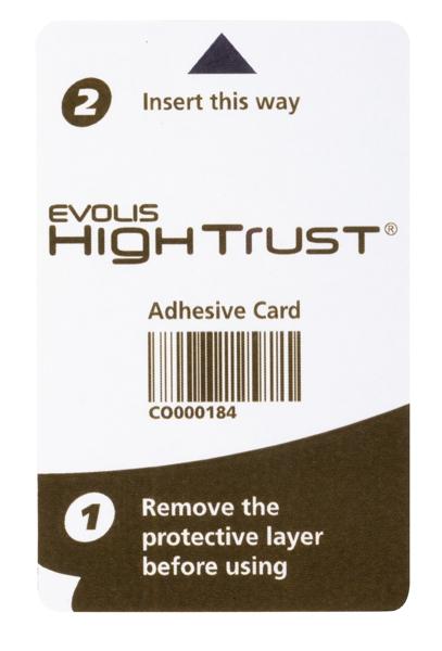ACL003 - Reinigungskarten adhesive Evolis