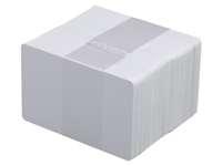 Plastikkarten weiß - selbstklebend