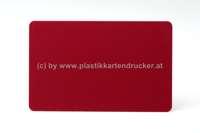 Plastikkarten burgunder 0,76mm