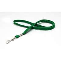 Lanyard 12mm grün 25 Stk. Polyester