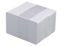 Plastikkarten weiß biologisch abbaubar