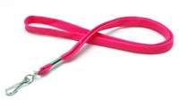 Lanyard 12mm pink 25 Stk. Polyester