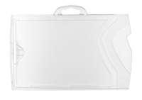 Kartenhalter klar/klar quer PC (25 Stk.)
