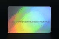Hologramm-Plastikkarten 0,76mm