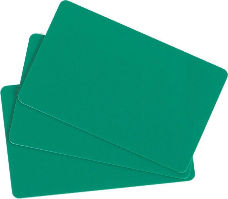 Plastikkarten grün 0,76mm  (Lebensmittelzertifiziert)