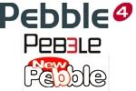 Farbbänder Pebble